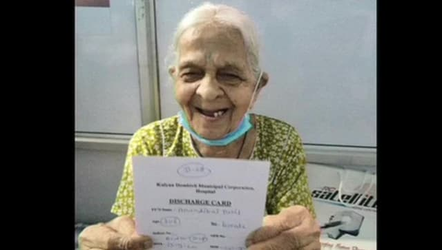 106 year old women beats corona