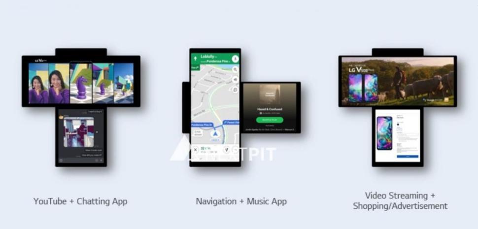 filtra como usaran apps dos pantallas original lg wing 2064781