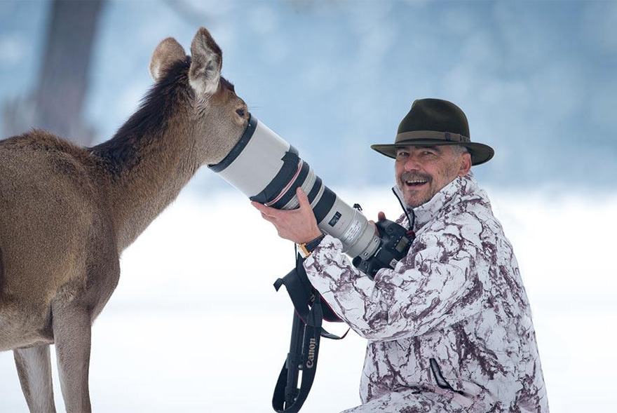 nature photographers cold