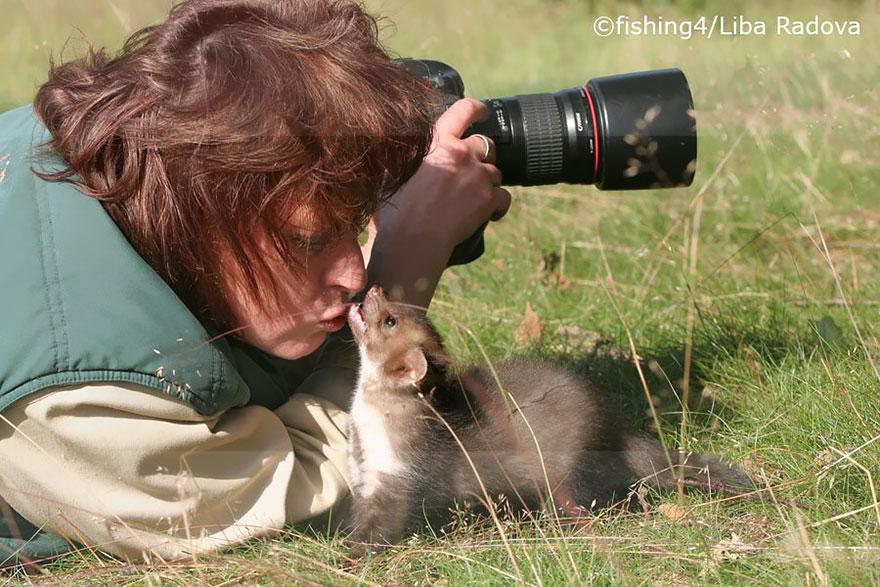nature photographers girl