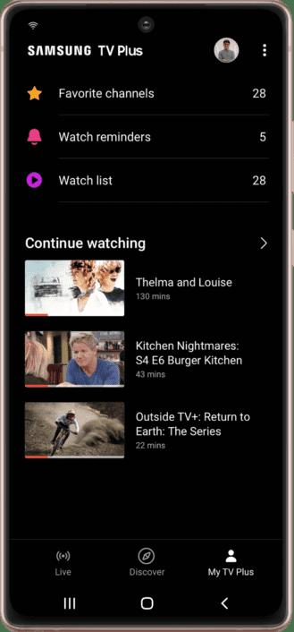 samsung tv plus to debut on galaxy smartphones 3 329x706 1