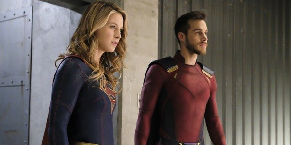 supergirls melissa benoist and chris wood bested their tv ...