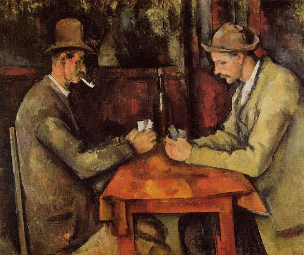 the card players paul cezanne