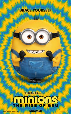 minions the rise of gru poster