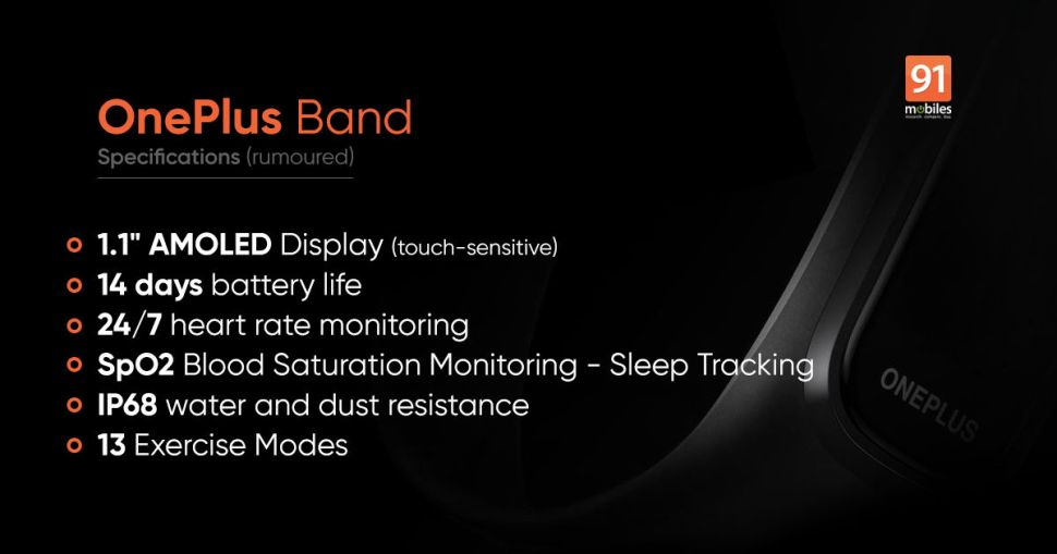 oneplus band feat