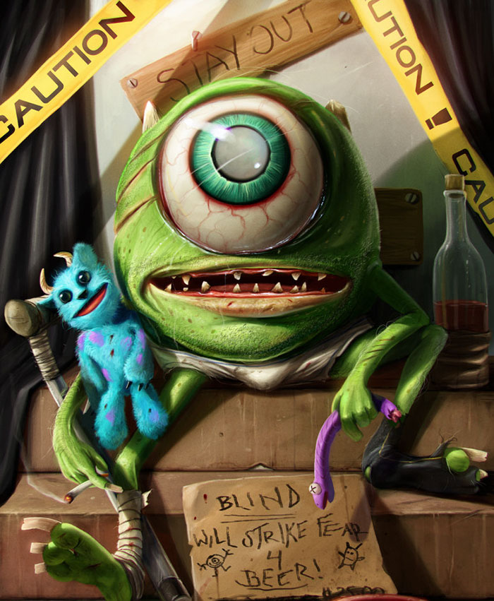 realistic cartoon characters 3d real life 30