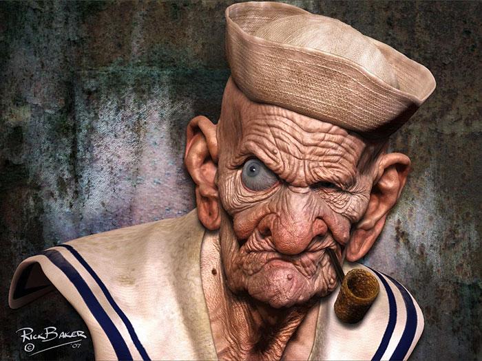 realistic cartoon characters 3d real life 9