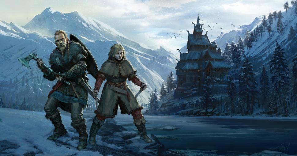 vinland saga assassins creed valhalla 4k f5