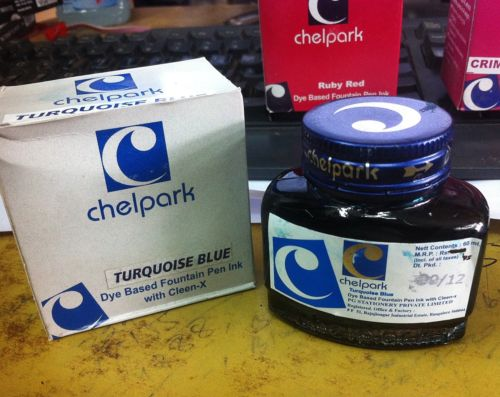 a chelpark turquoise blue being sold on ebay for 25